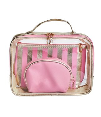 Beautify Toiletry Bag / Pink