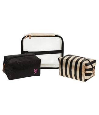 On The Move Toiletry Bag / Black