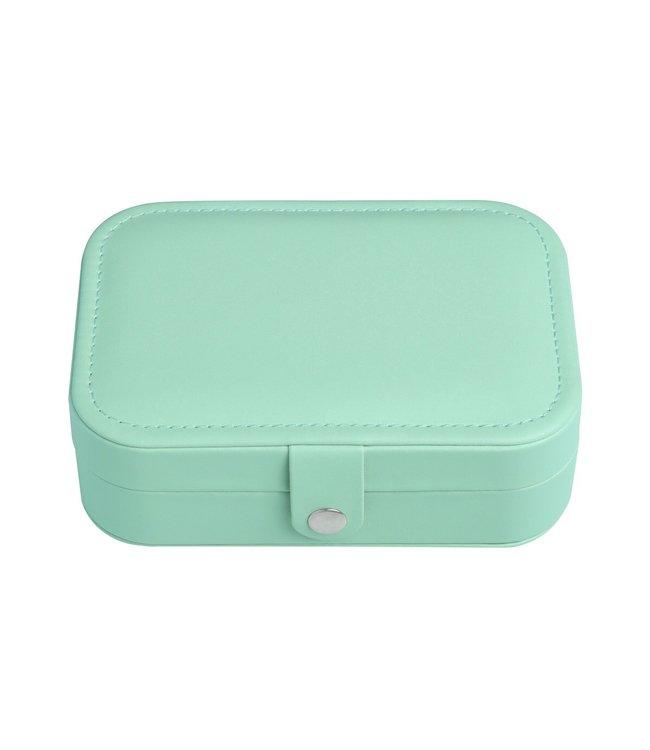 Travel Jewelry Box / Mint