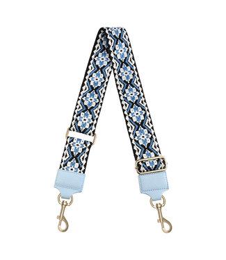 Boho Bag Strap / Blue