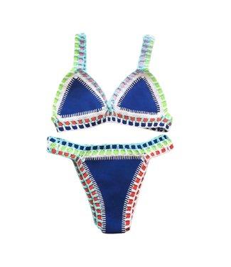 Ibiza Bikini / Blue & Black