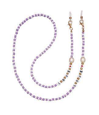 Love Sunglasses Cord / Lilac