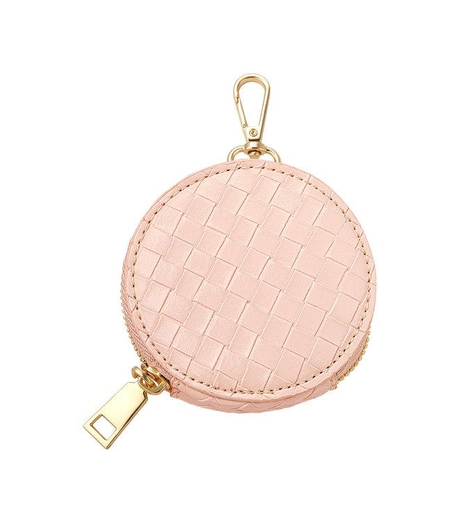 Braided Round Wallet