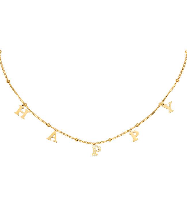 Happy Link Necklace