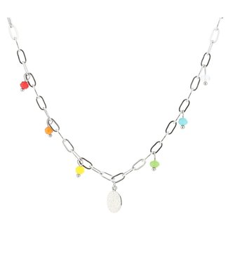 Colorful Drops Necklace