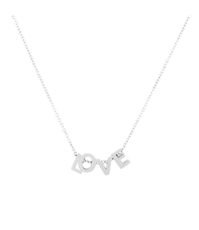 Love Blocks Necklace