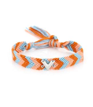 Rainbow V Bracelet