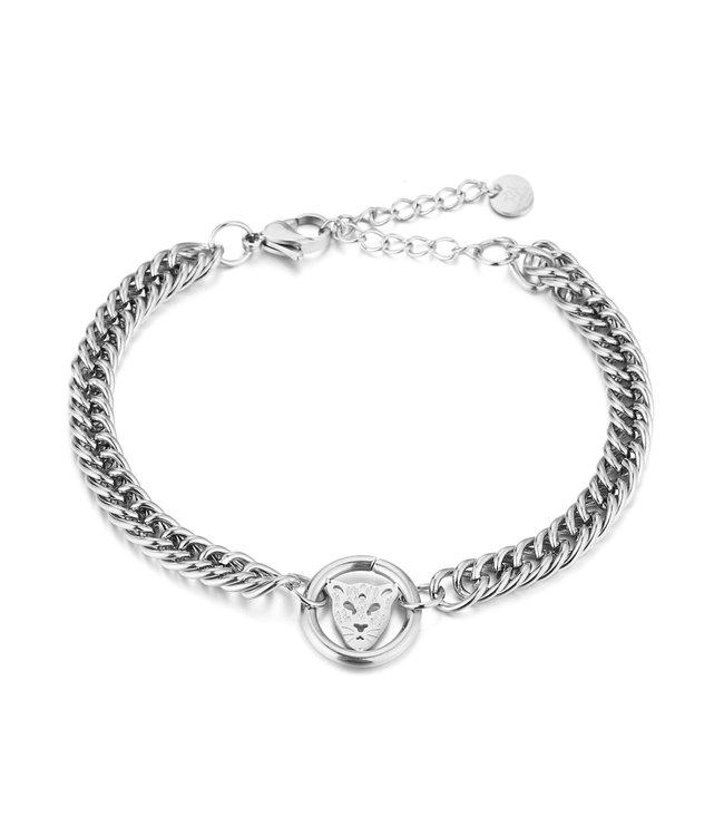 Leopard Circle Bracelet