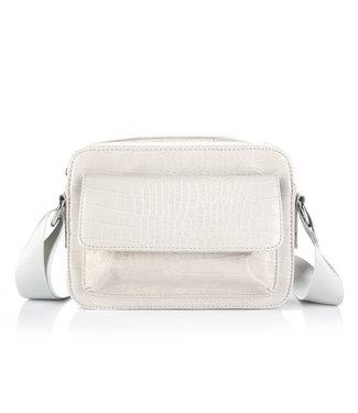 Tess Croco Bag / Grey