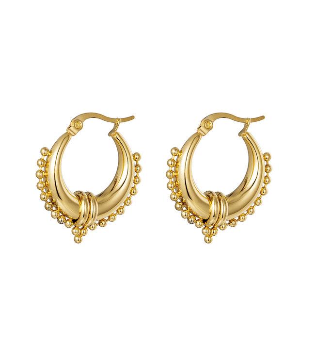 Chunky Beads Earrings