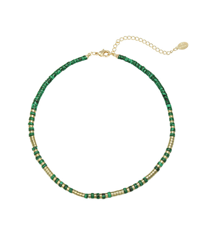 Power to the Stone Necklace / Green