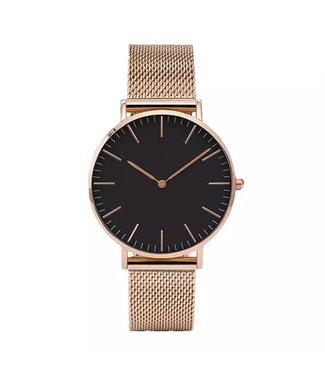 Lovely Watch / Black Rose Gold