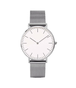 Lovely Watch / White Silver