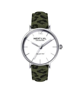 Cheetah Watch / Army Green