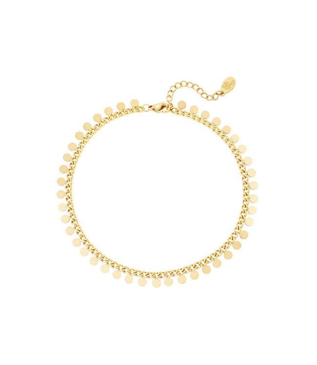 Gold Confetti Bracelet