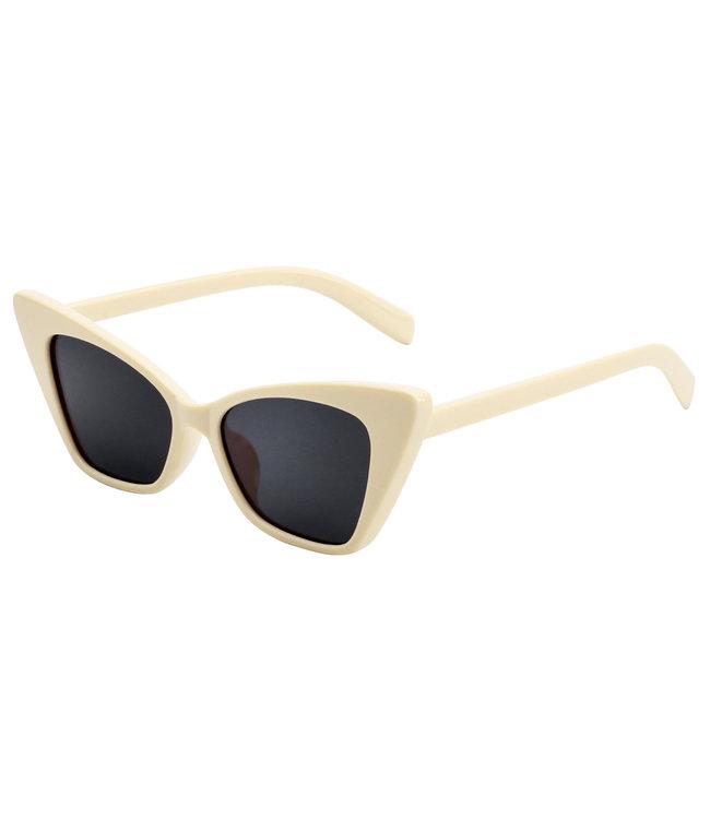 Cat Shades Sunglasses / Beige