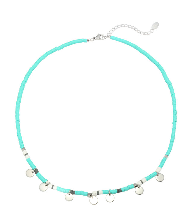 Surf with Me Necklace / Blue