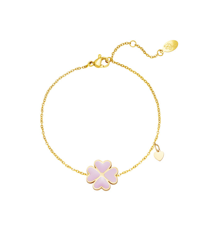 Pastel Clover Bracelet