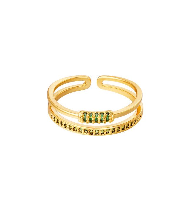 Bling Line Ring