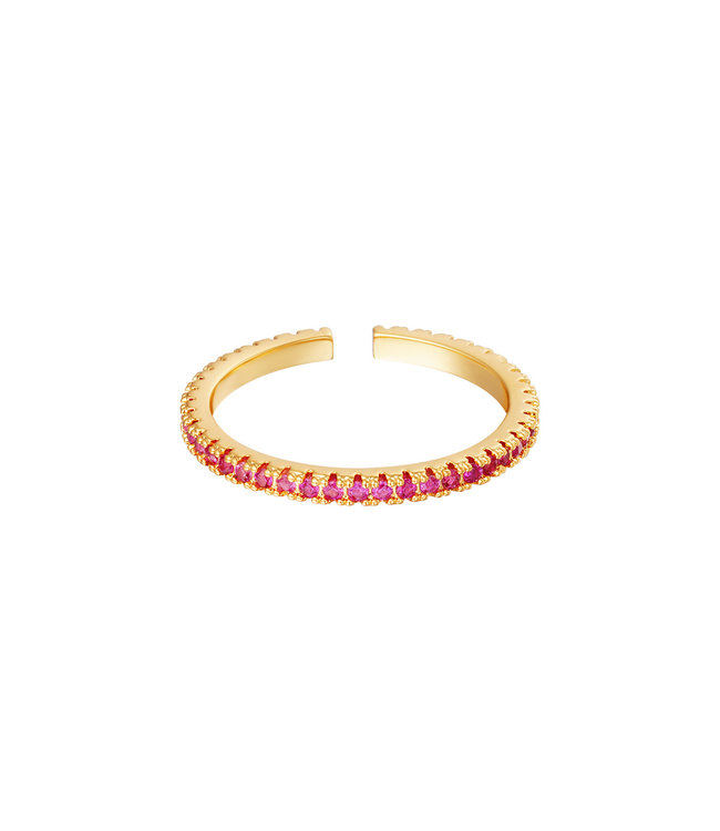Colorful Ring / Red