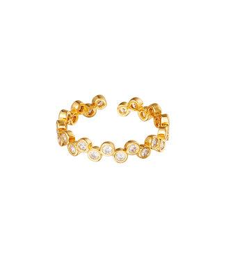 Zircon Bubble Ring