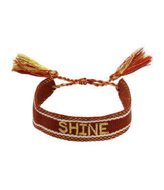 Woven Shine Bracelet