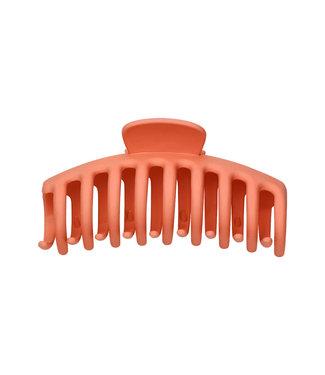 Matt Hair Clip / Orange