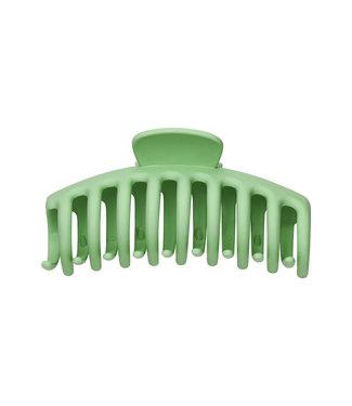 Matt Hair Clip / Green