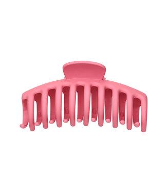 Matt Hair Clip / Candy Pink