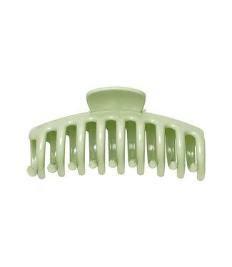 Shiny Hair Clip / Pistachio