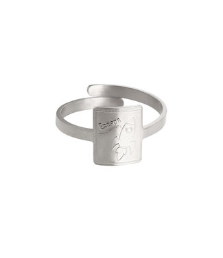 Silver Rocket Power Ring