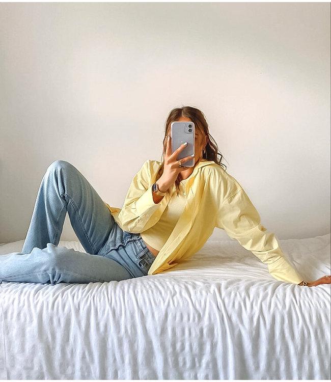 Oversized Blouse / Yellow
