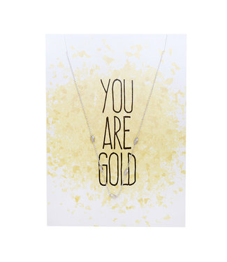 You are Gold Necklace Giftcard