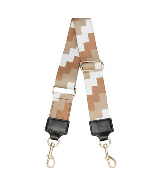 Blocks Bag Strap / Camel