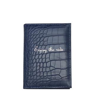 Enjoy the Ride Passport Cover / Dark Blue