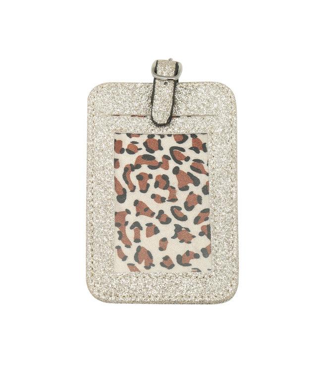 Glitter Suitcase Hanger / Gold