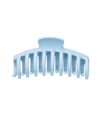 Matt Hair Clip / Light Blue