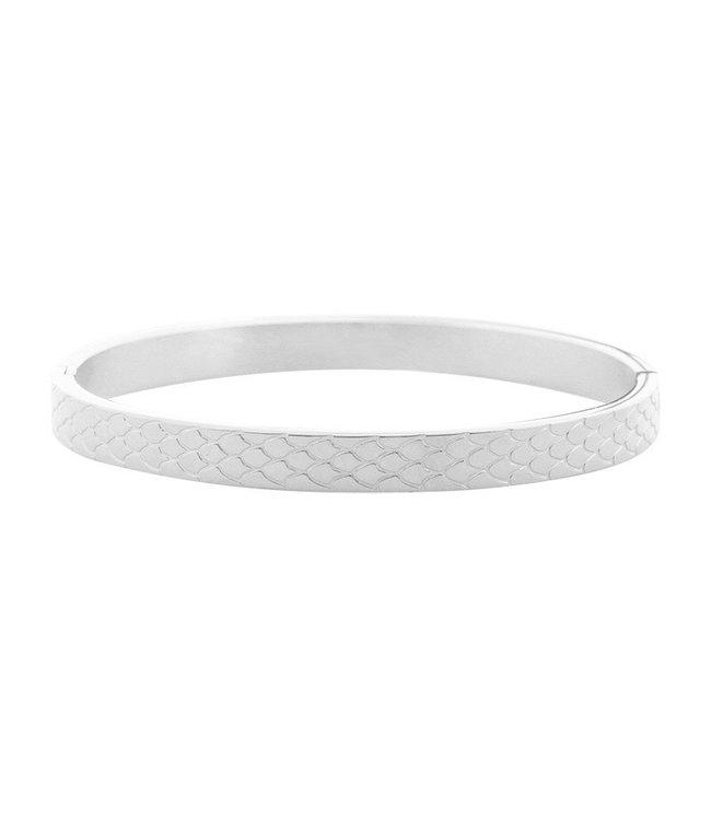 Bangle Snake Print Bracelet