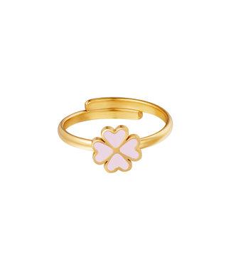Pastel Clover Ring