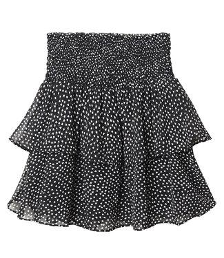 Miss Heart Skirt / Black