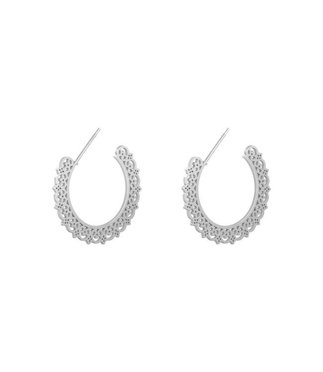 Sophia Hoop Earrings