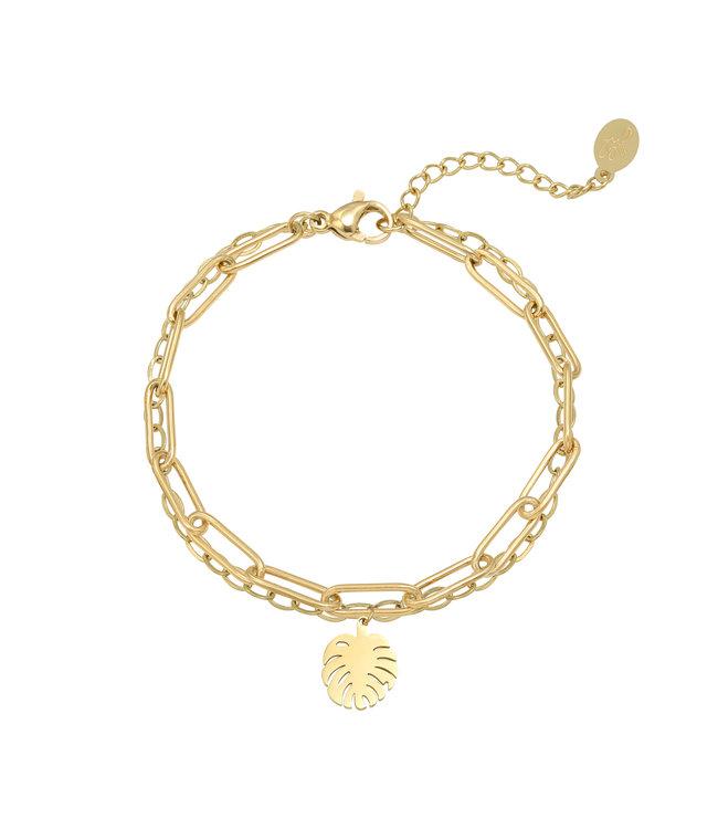 Fine Leaf Bracelet