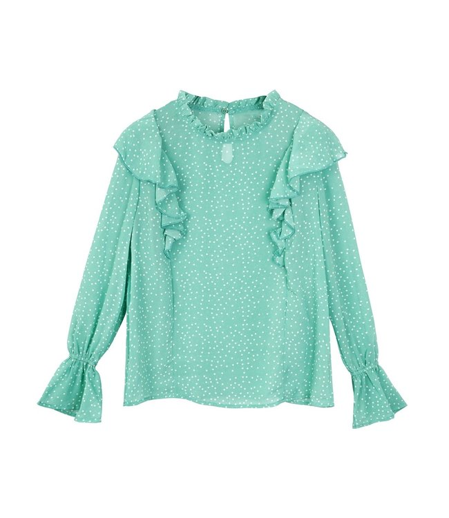 Dotted Blouse / Mint