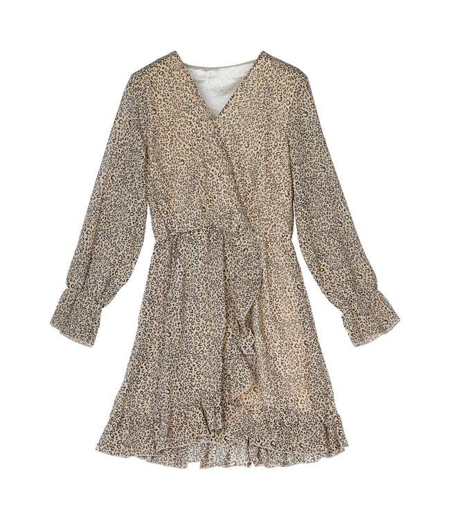 Ruffle Up Dress / Beige
