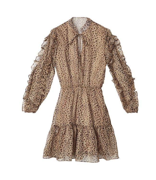 Leopard Girl Dress