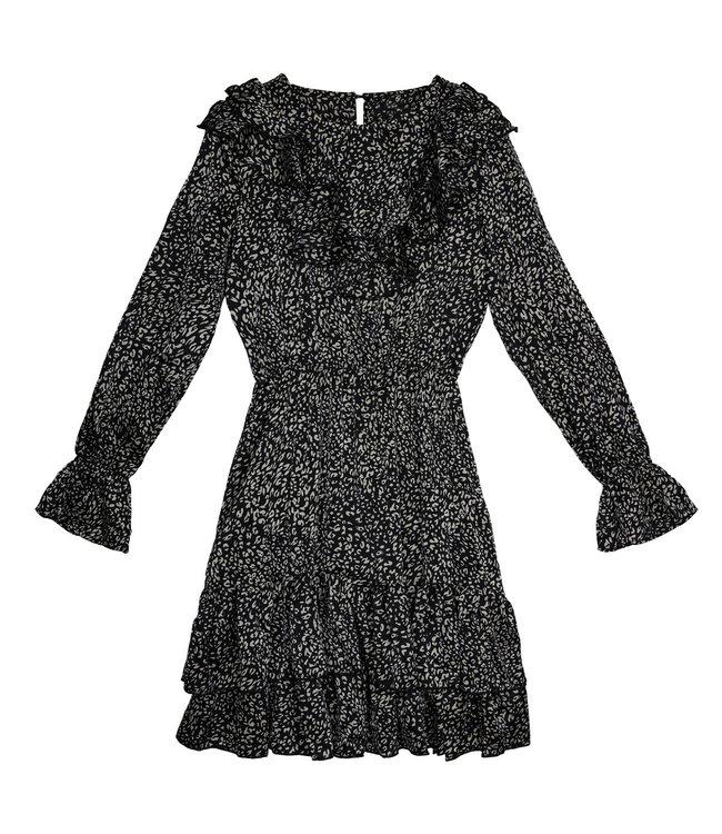 Winter Beast Dress / Black
