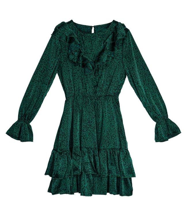Winter Beast Dress / Green