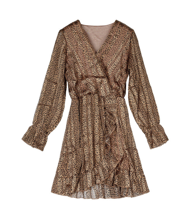 Pantheristic Dress / Brown