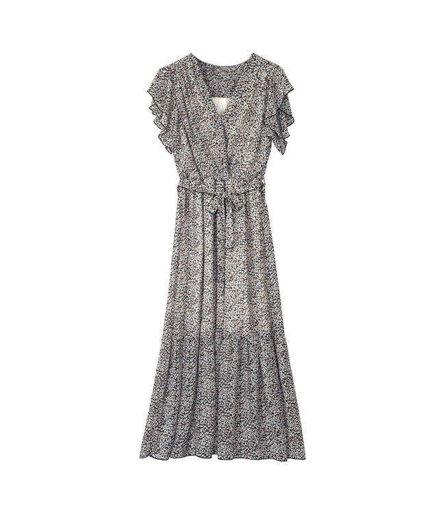 Ruches Maxi Dress