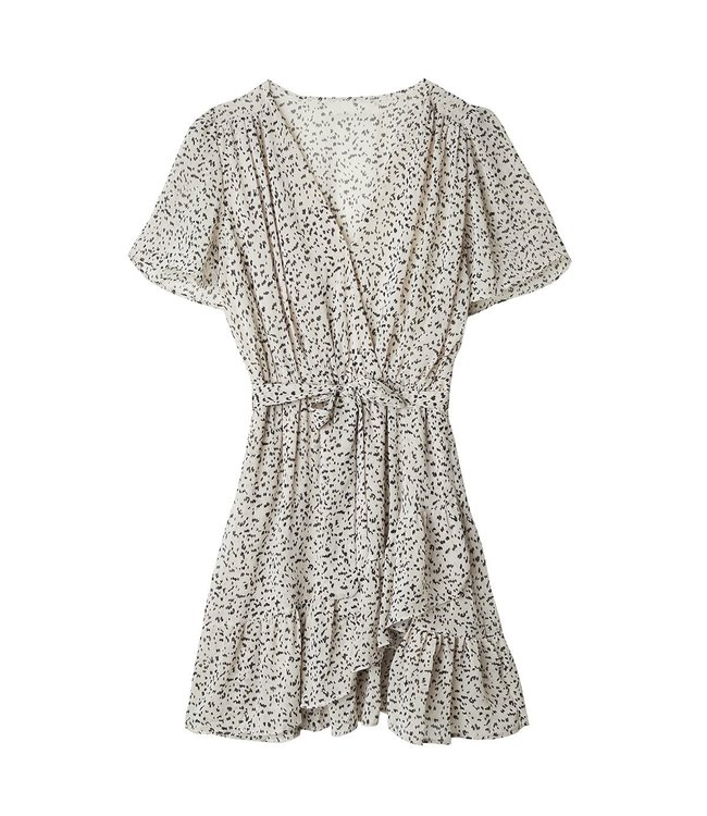 Dots All The Way Dress / Off White